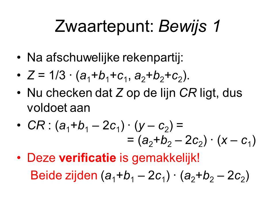 Bewijs Thales 1 Bewijs: Mogen z.b.d.a.aannemen dat A = (-1,0) en B = (1,0).
