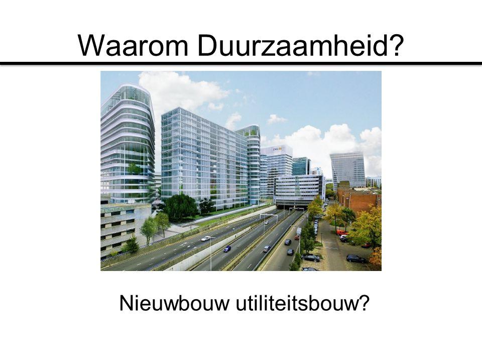 Nieuwbouw utiliteitsbouw?