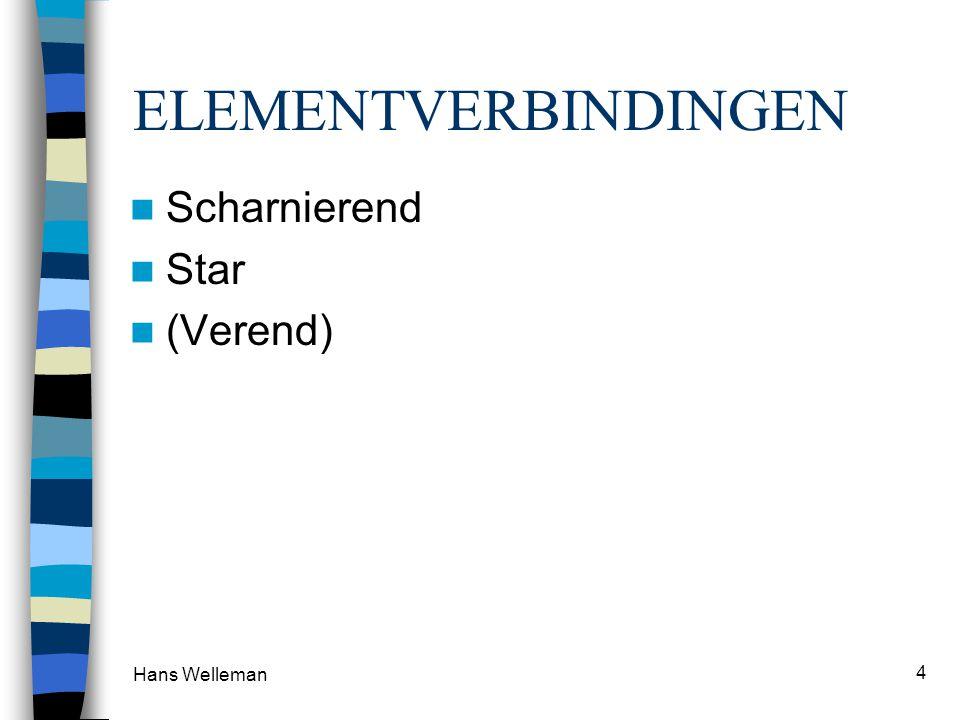 Hans Welleman 4 ELEMENTVERBINDINGEN Scharnierend Star (Verend)