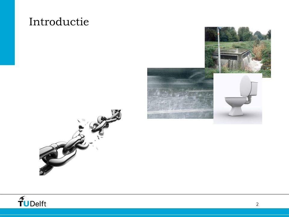 3 Binnen riolering Huisaansluiting / kolkleiding Hoofdriool Overstort / persleiding