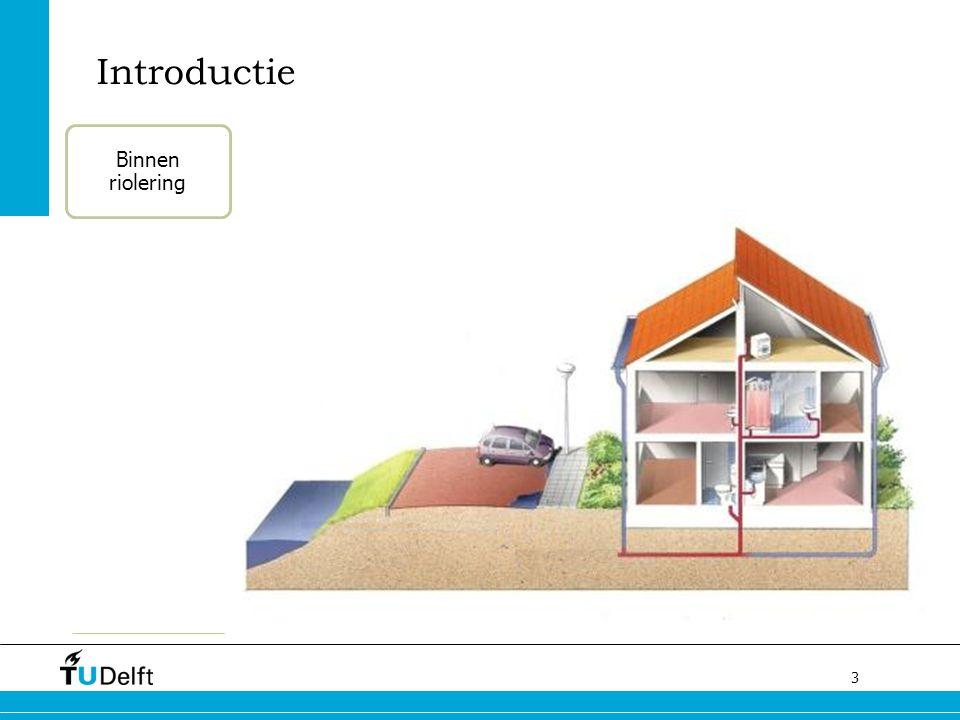 4 Introductie Binnen riolering Huisaansluiting / kolkleiding Hoofdriool Overstort / persleiding