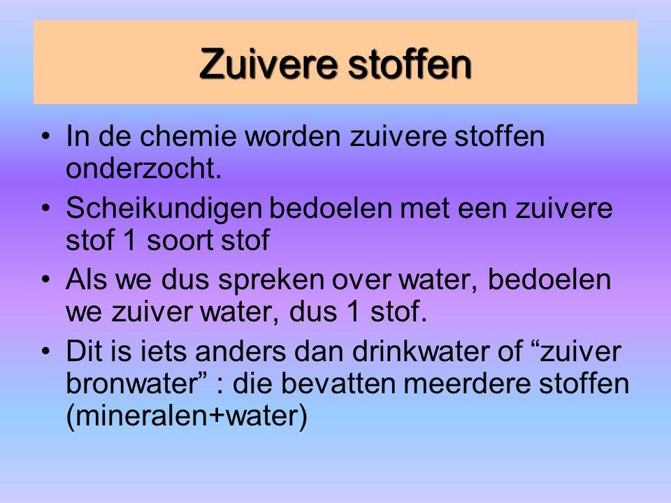structuur ijs en water ijs = vaste fase water=vloeibare fase IJs heeft een andere structuur dan water water (l) ijs(s)