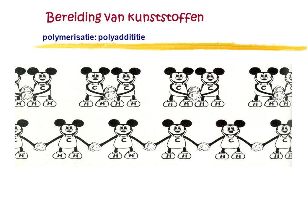 Bereiding van kunststoffen polymerisatie: polyaddititie