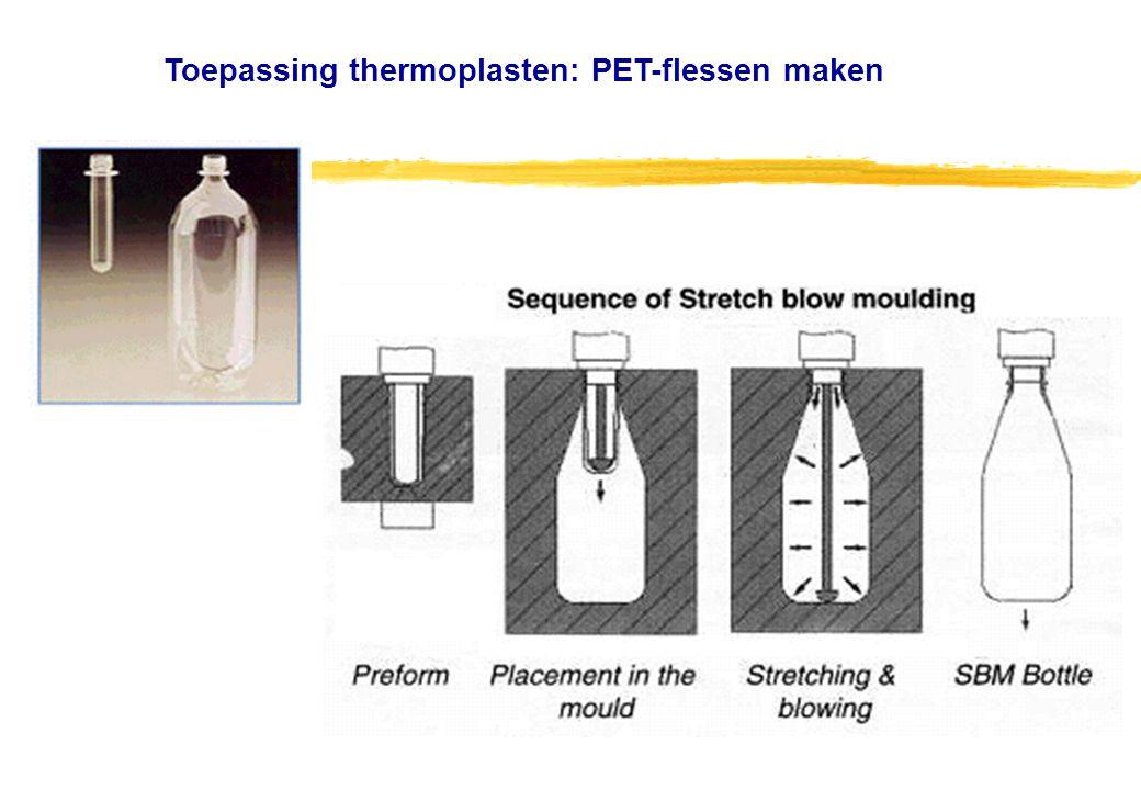 Toepassing thermoplasten: PET-flessen maken