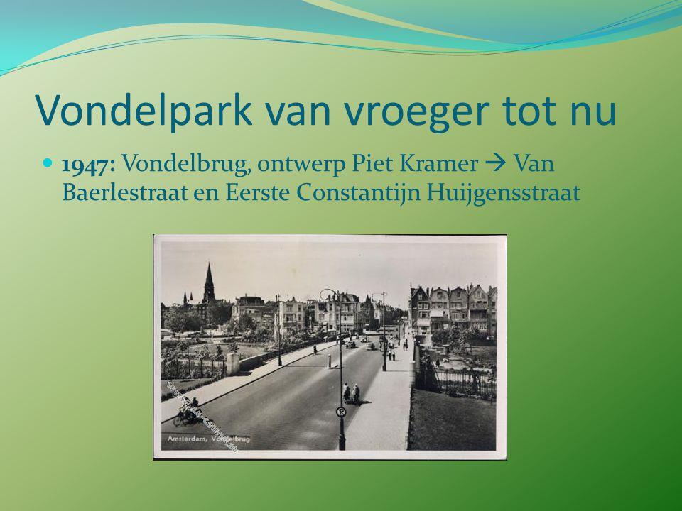 Vondelpark van vroeger tot nu 1895: Stedelijk museum