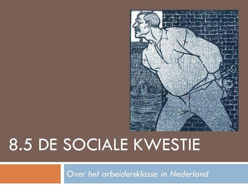 8.5 DE SOCIALE KWESTIE Over het arbeidersklasse in Nederland