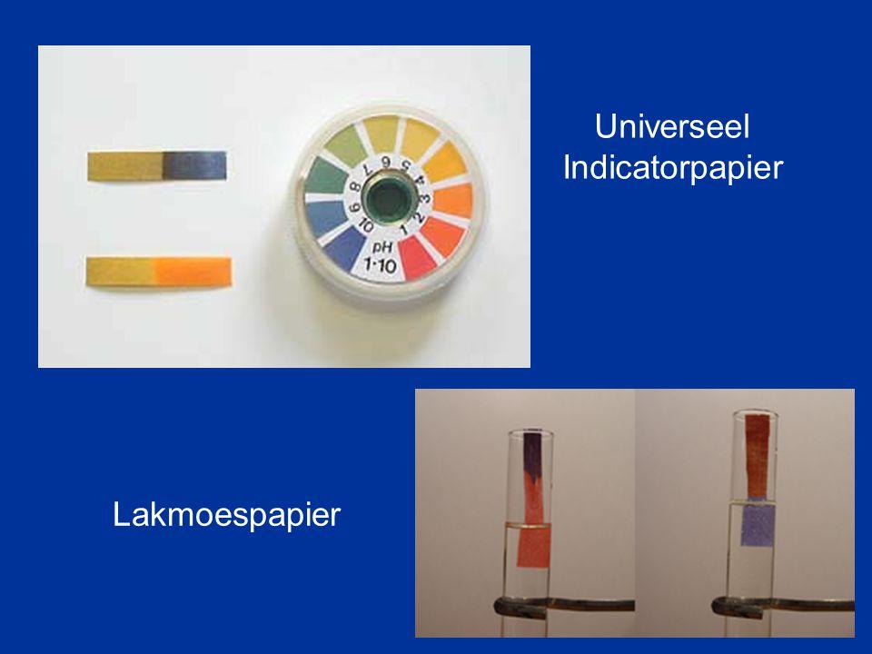 Universeel Indicatorpapier Lakmoespapier