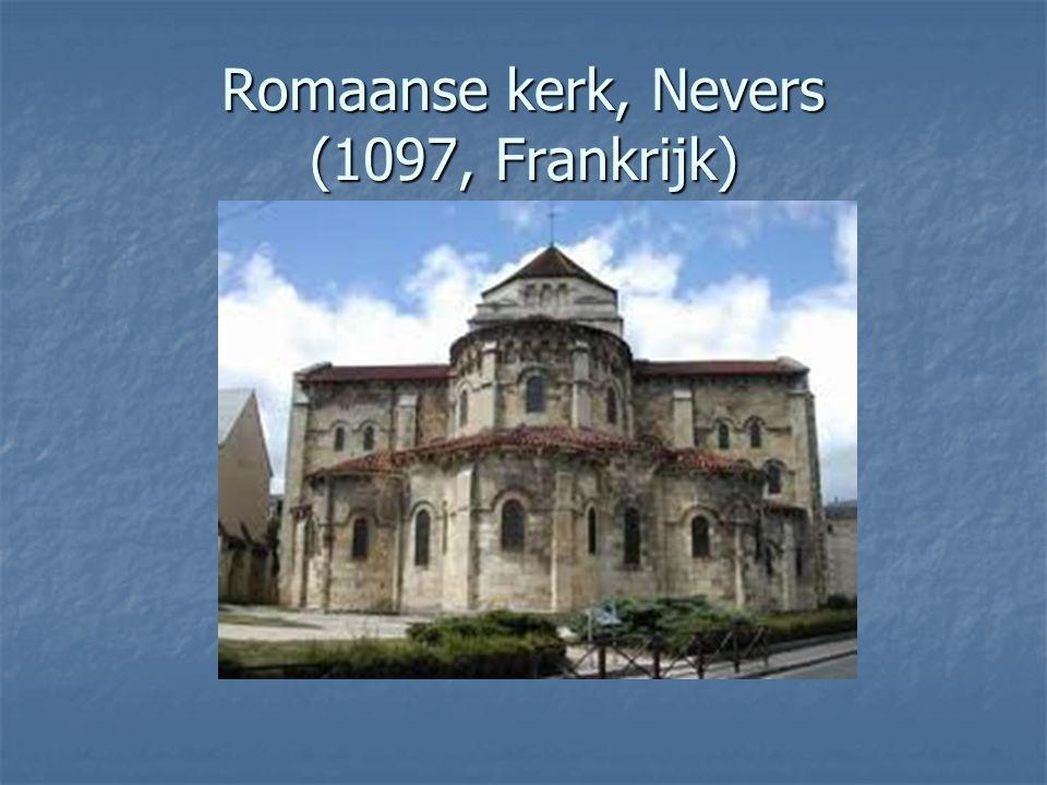 Romaanse kerk, Nevers (1097, Frankrijk)