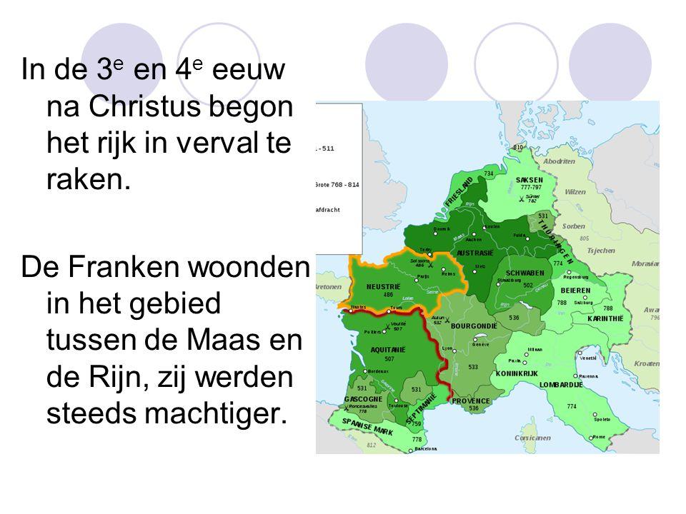 In de 3 e en 4 e eeuw na Christus begon het rijk in verval te raken.