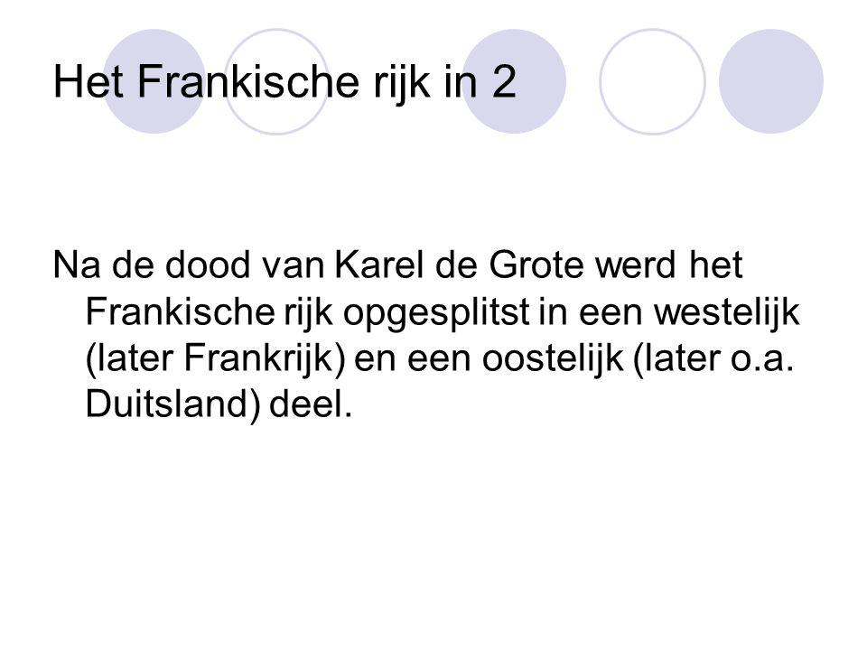 Nederland Nederland en België behoorden tot het Duitse rijk.