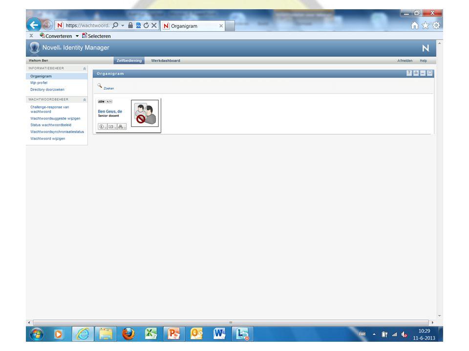 A.Inloggen 1 e keer, en wachtwoord wijzigen Het centrale vertrekpunt is je Portal.