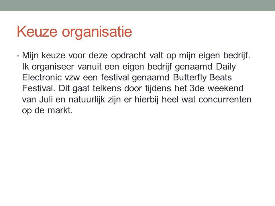 B.Doelgroepen Doelgroep voor het festival zijn ook te zien op de FB- pagina.