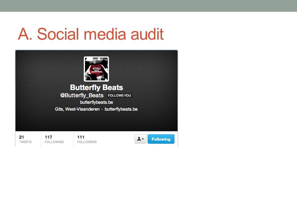 A. Social media audit