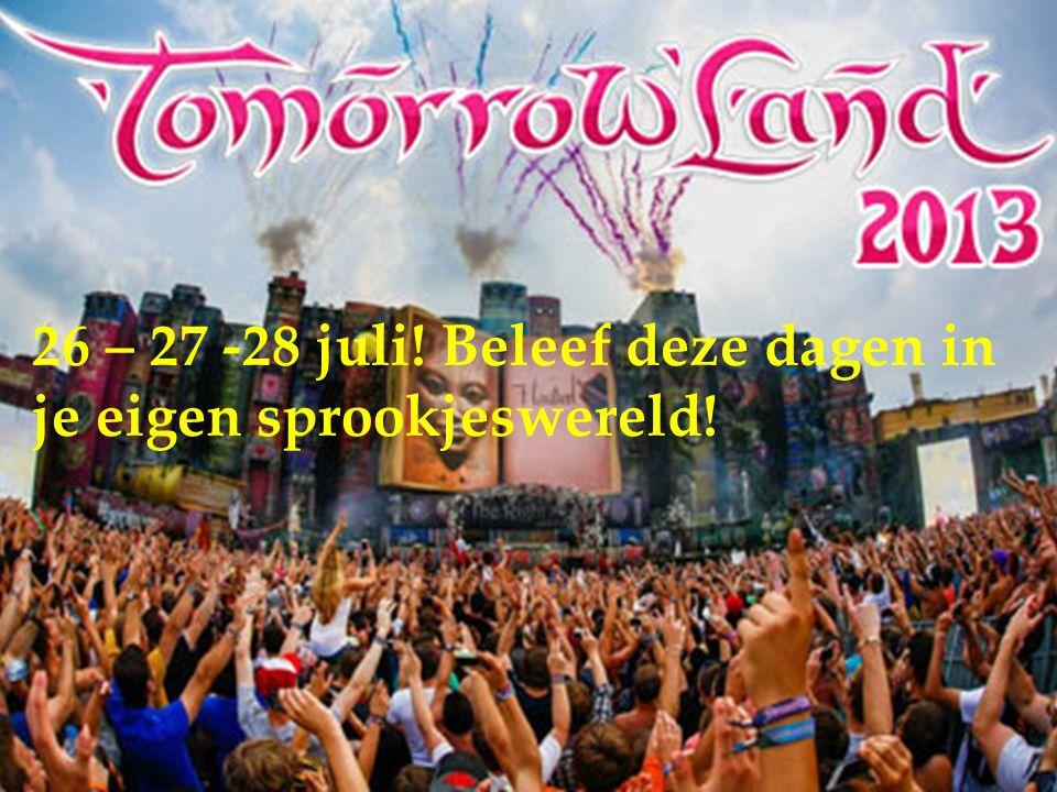  Wat: Dance festival  Waar: Schorre in Antwerpen (Boom)  Wie: organisatie ID&T  Concept: het is de 9 e editie waarbij elk jaar opnieuw de beste dj's aanwezig zijn om er het feest van het jaar te laten doorgaan.