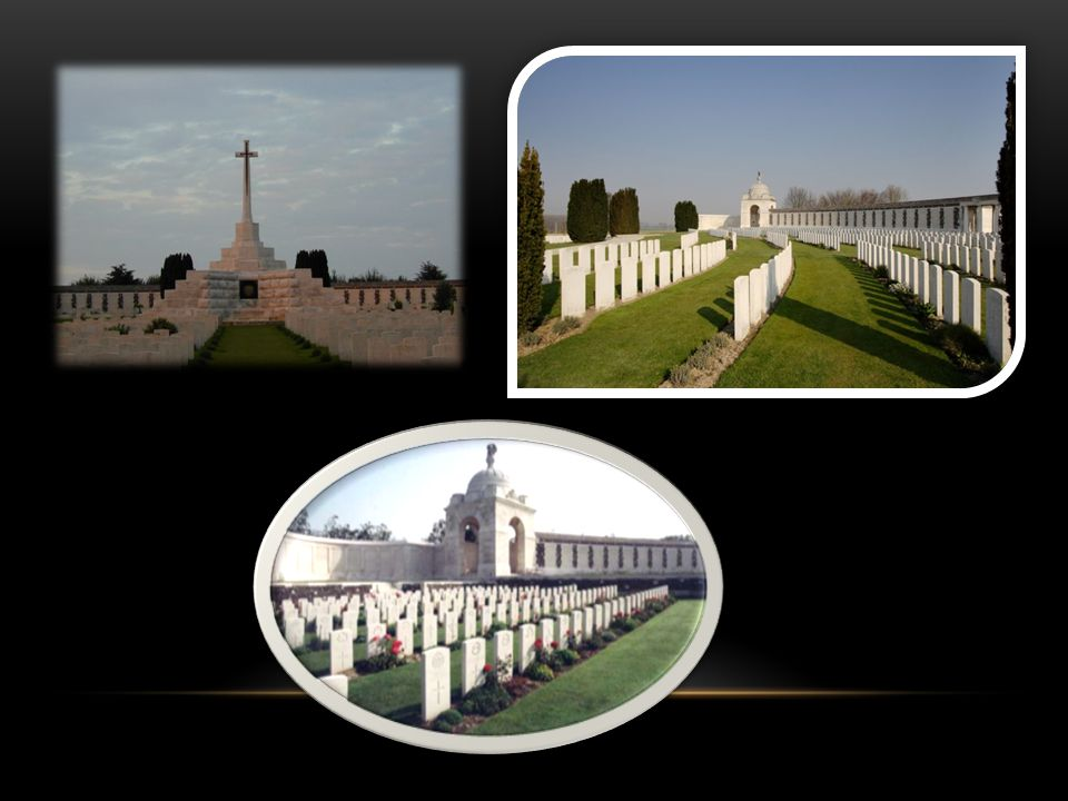 Luchtfoto Tyne Cot Cemetery Ligging Tyne Cot Cemetery
