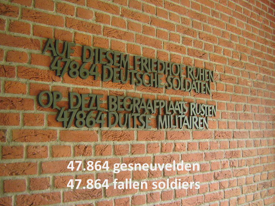 47.864 gesneuvelden 47.864 fallen soldiers