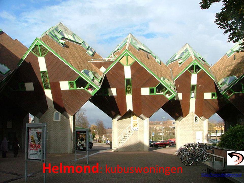 Helmond : kubuswoningen Maria Al juni 2013 http://www.donderwijs.nl