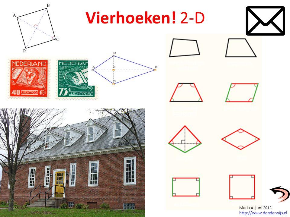 Kubussen! vierkanten 3-D Maria Al juni 2013 http://www.donderwijs.nl