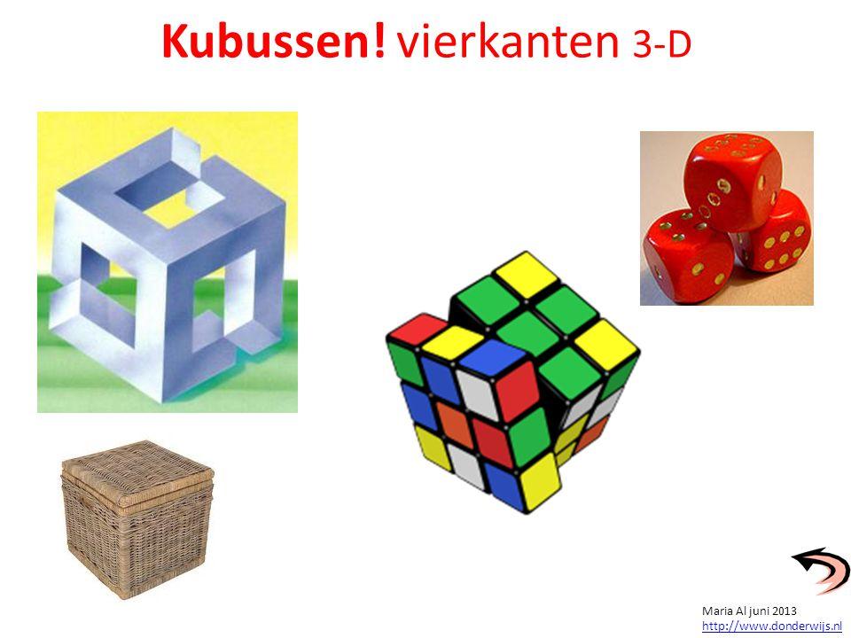 Hoeveel kubussen heeft elk bouwwerk.
