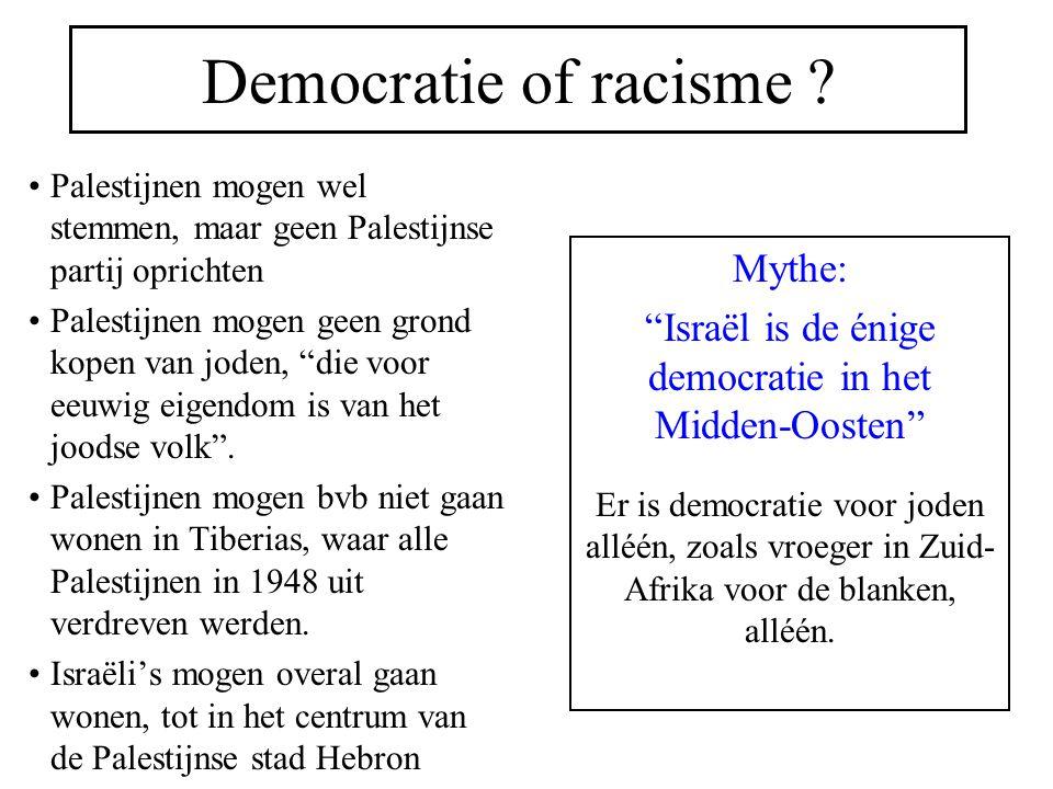 Democratie of racisme .