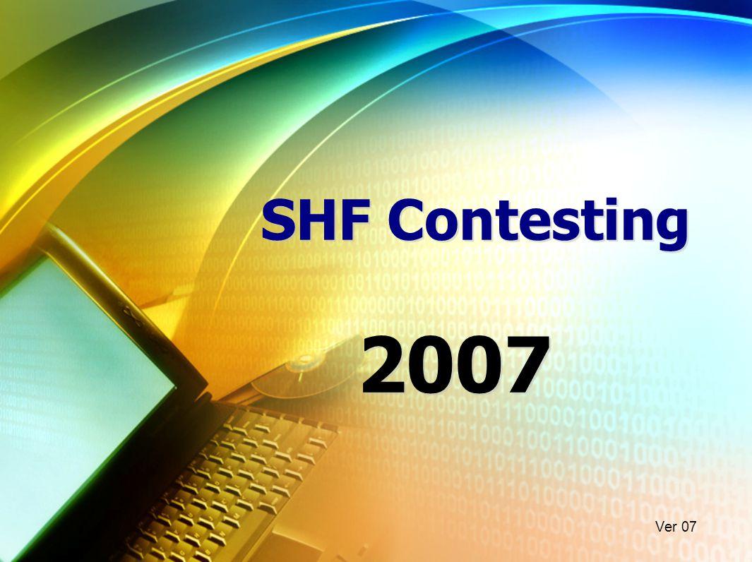 SHF Contesting 2007 Ver 07