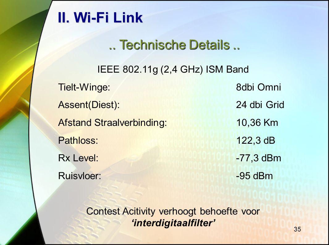 35 II.Wi-Fi Link.. Technische Details..