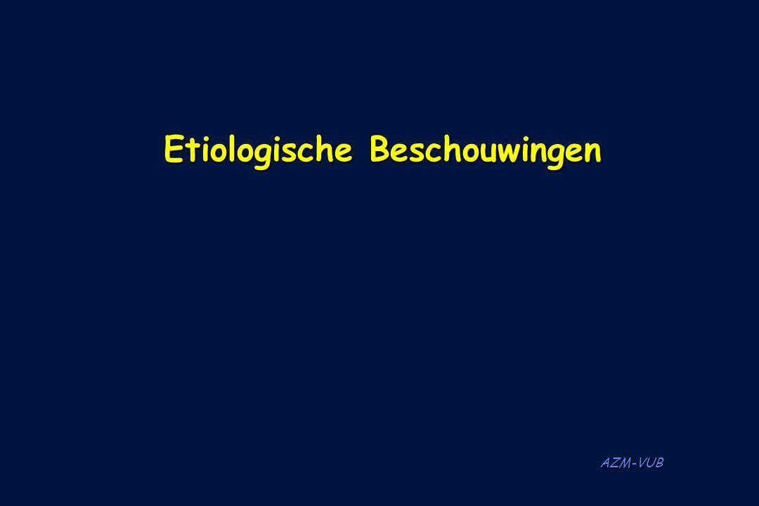 AZM-VUB Etiologische Beschouwingen