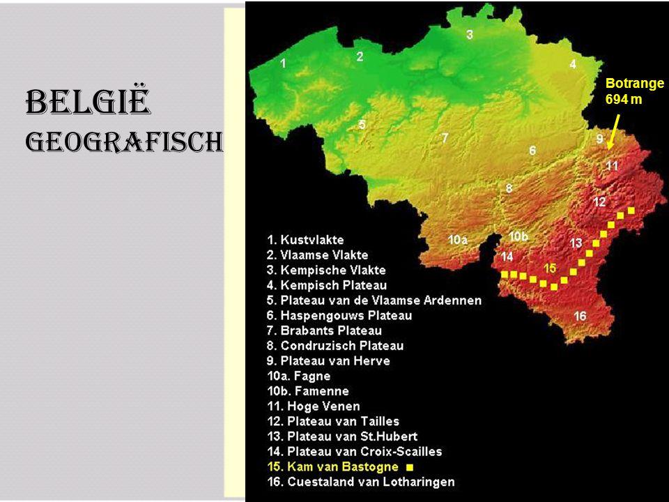 België Geografisch Botrange 694 m