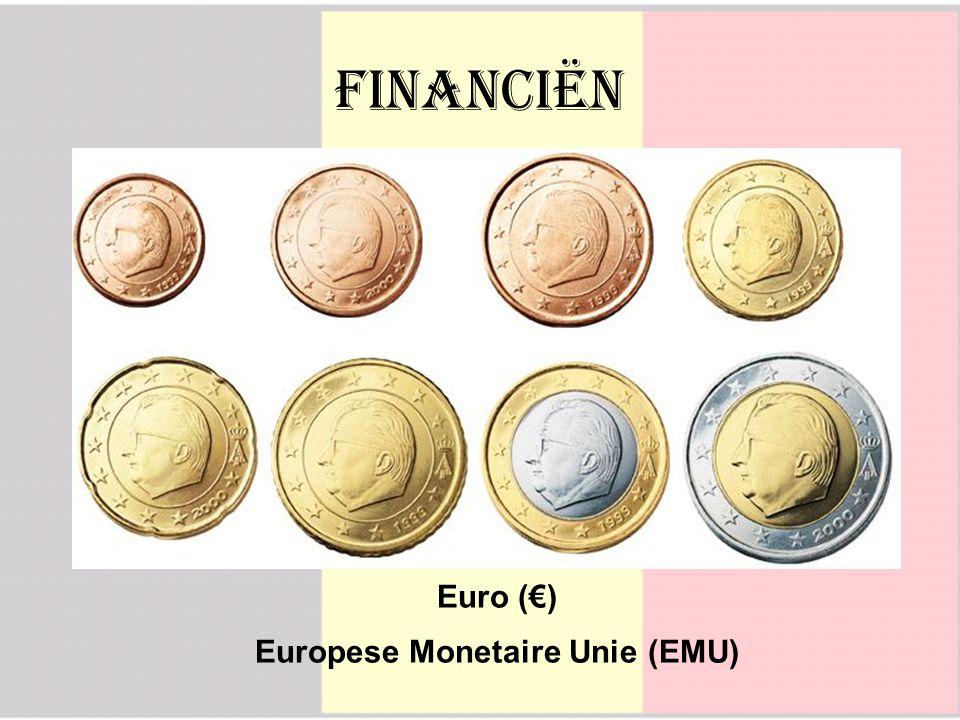 Financiën Euro (€) Europese Monetaire Unie (EMU)