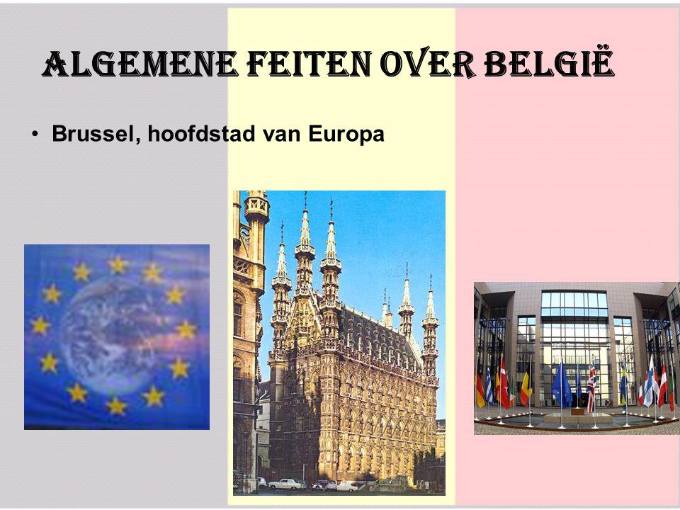 AlgemeNE feiten over België Brussel, hoofdstad van Europa