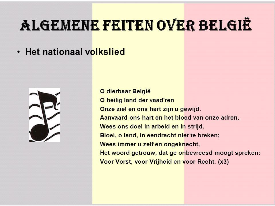O dierbaar België O heilig land der vaad'ren Onze ziel en ons hart zijn u gewijd. Aanvaard ons hart en het bloed van onze adren, Wees ons doel in arbe