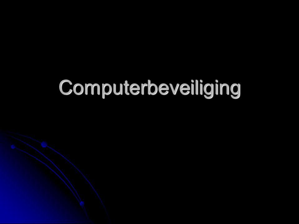 Computerbeveiliging