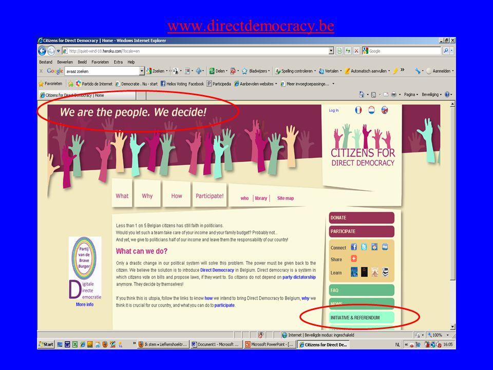 www.directdemocracy.be