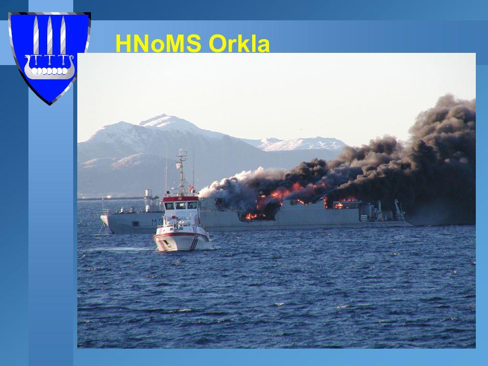 Staat van de bemanning u HNoMS Orkla bemanning - De bemanning werd verzameld in het Alesund hospitaal, en de bemanning is gezond.
