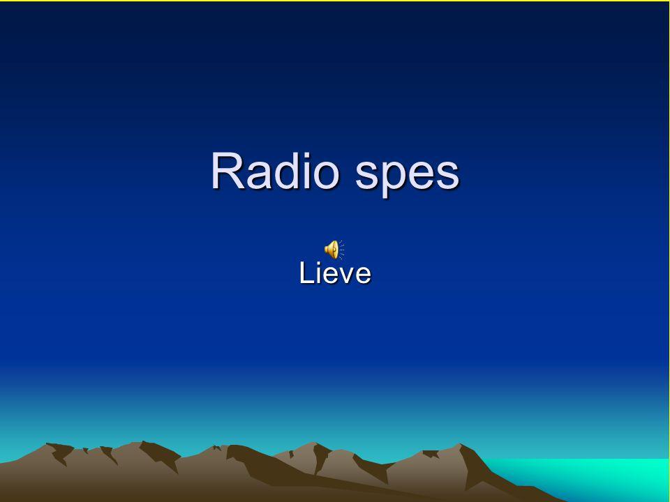 Radio spes Lieve
