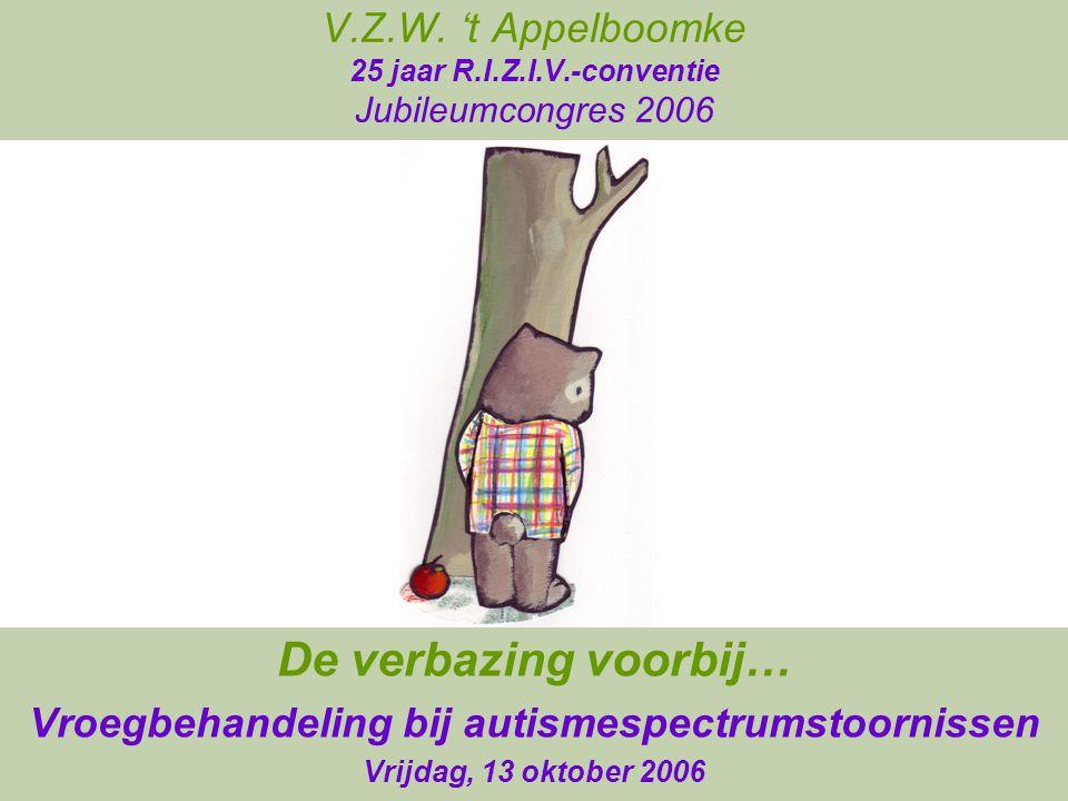 Autisme in Nederland/België 1952 Van Krevelen 'een geval van e.i.a.' 1953 Kamp 'les psychoses chez l'enfant' 1954 Grewel et al.