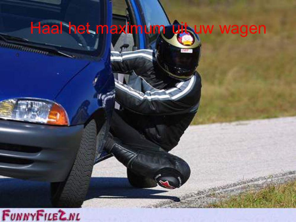 Haal het maximum uit uw wagen