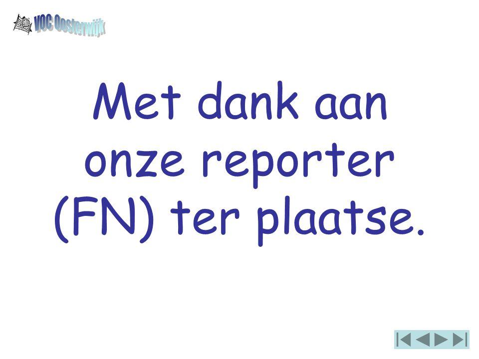 Met dank aan onze reporter (FN) ter plaatse.
