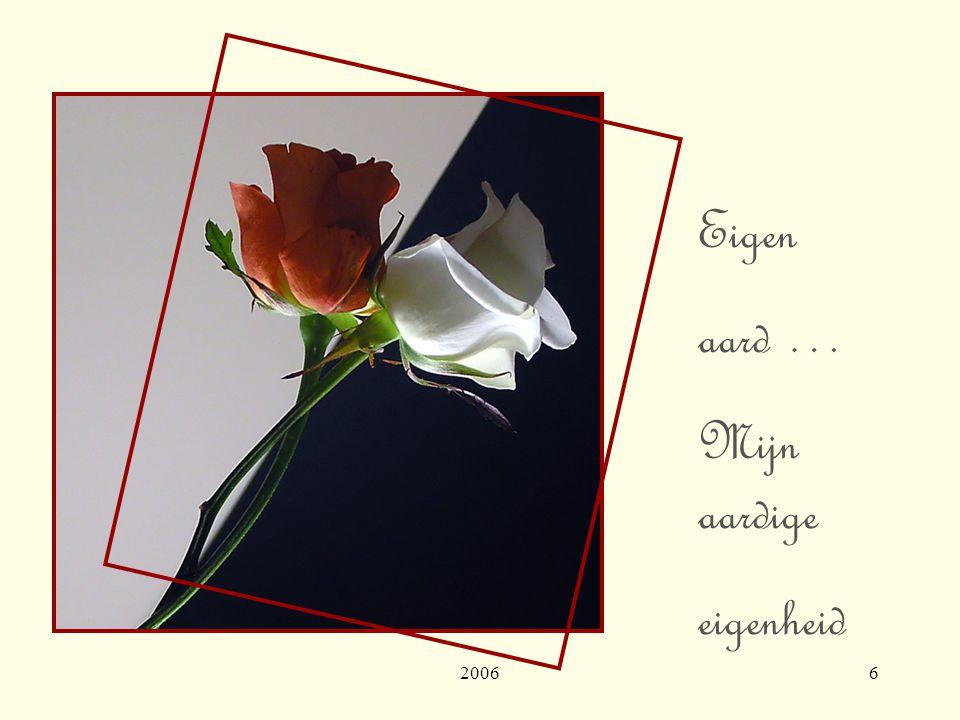 20066 Eigen aard … Mijn aardige eigenheid