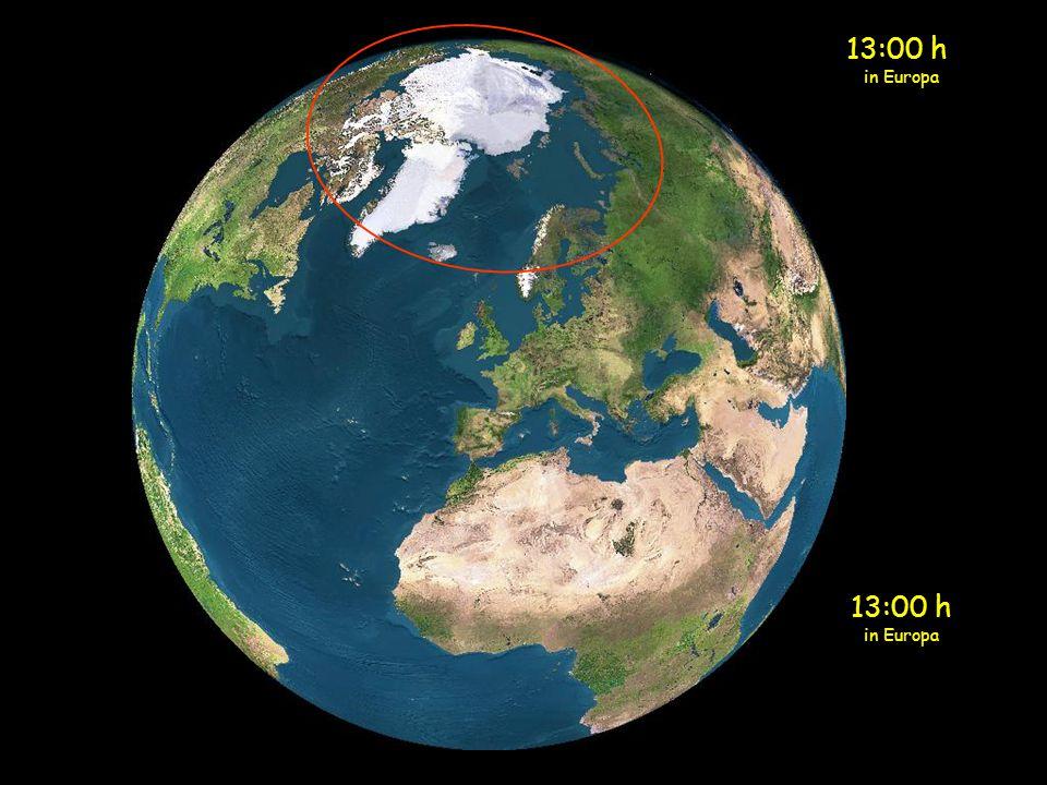 13:00 h in Europa 13:00 h in Europa