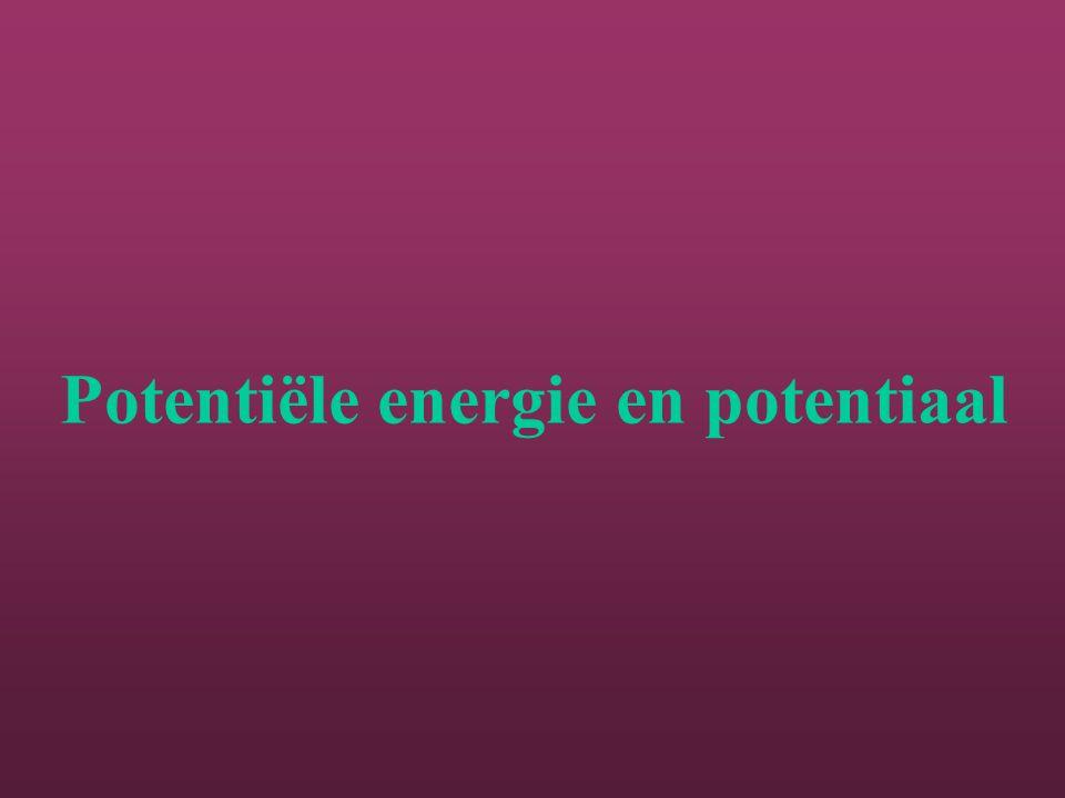 Potentiële energie en potentiaal