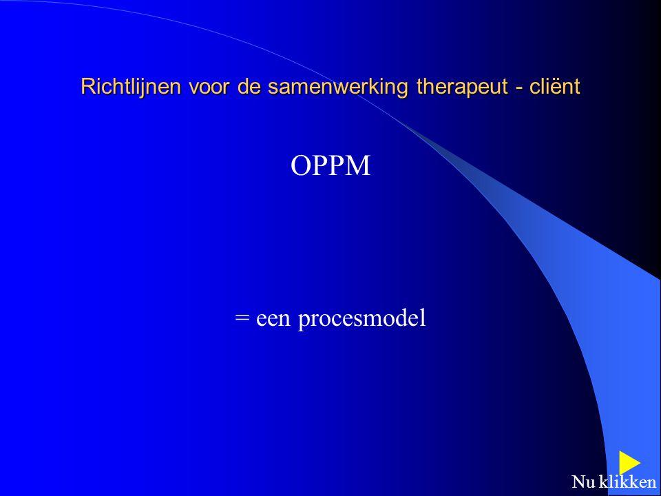 CMOP CLIENT CENTRED PRACTICE - Benadering die uitgaat van het unieke van de persoon - Samenwerkingsverband - Therapeut luistert,biedt informatie - Cli