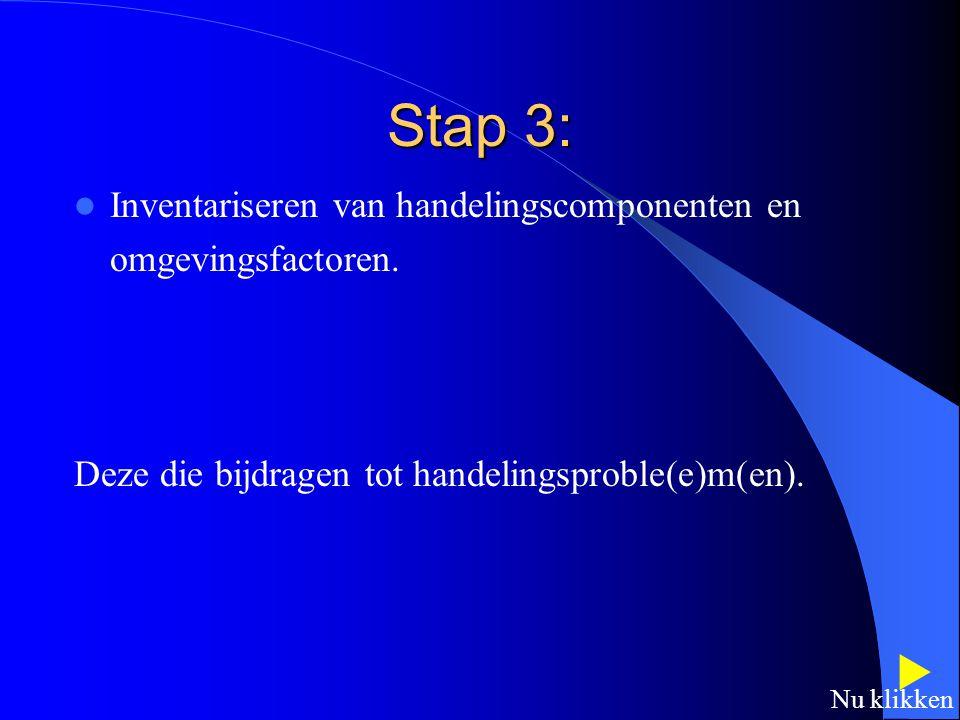 Stap 2: Selecteren van theoretische benadering(en). Cliënt centered practice: de relevantie van een benadering wordt de cliënt uiteengezet zodat hij/z