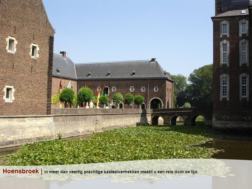 Hoensbroek | In meer dan veertig prachtige kasteelvertrekken maakt u een reis door de tijd.