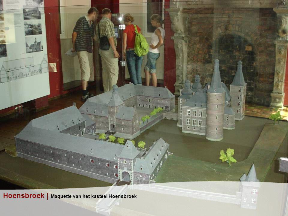 Hoensbroek | Maquette van het kasteel Hoensbroek