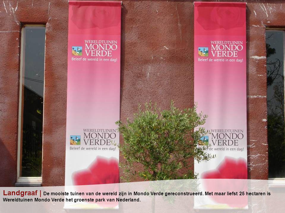 Landgraaf | De mooiste tuinen van de wereld zijn in Mondo Verde gereconstrueerd.