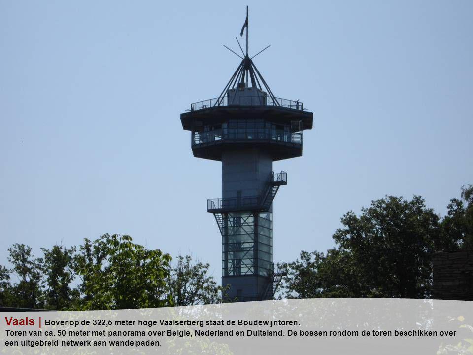 Vaals | Bovenop de 322,5 meter hoge Vaalserberg staat de Boudewijntoren.