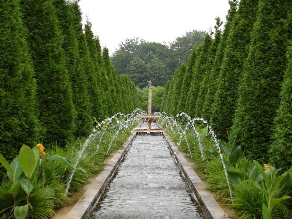 Landgraaf | Het Palacio dos Marquises de Fronteira in Lissabon stond model voor deze tuin en galerij.