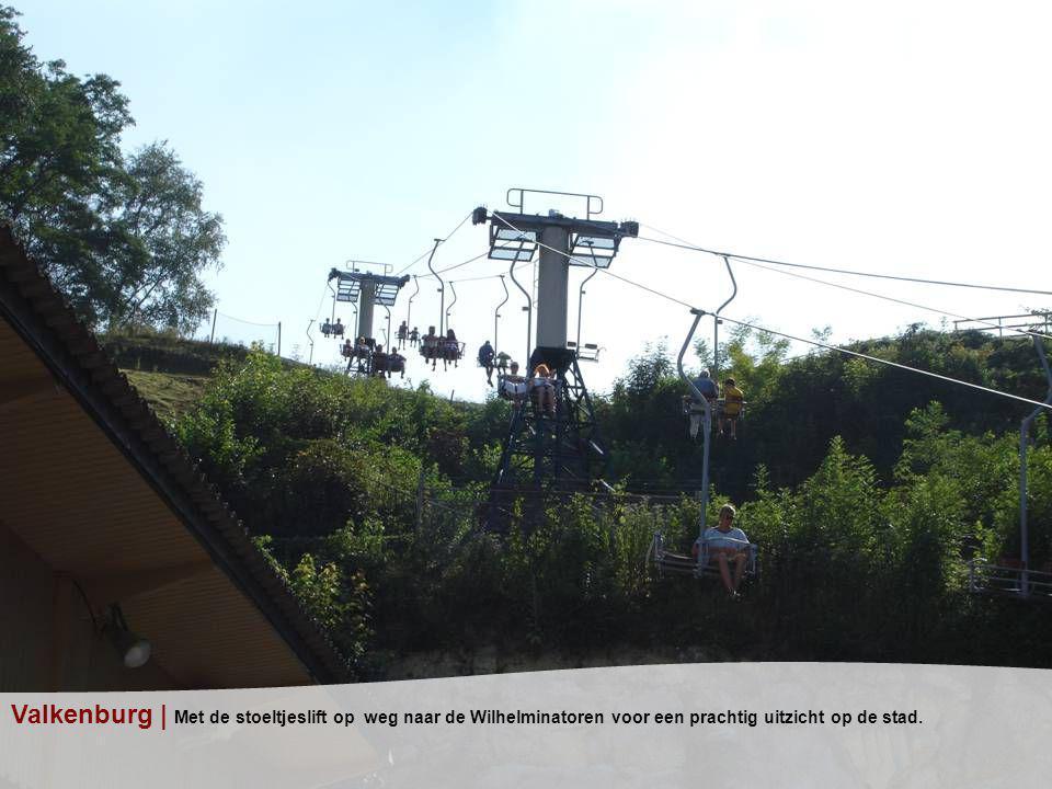 Valkenburg | Met de stoeltjeslift op weg naar de Wilhelminatoren voor een prachtig uitzicht op de stad.
