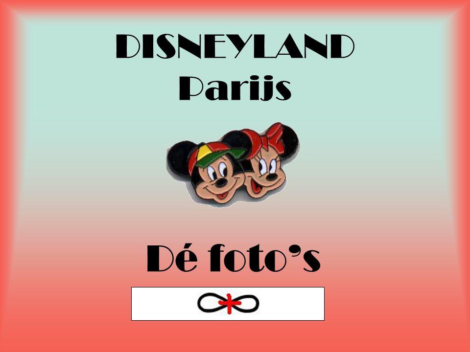 DISNEYLAND Parijs Dé foto's
